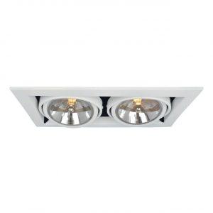 Встраиваемый светильник Arte Lamp Cardani A5935PL-2WH