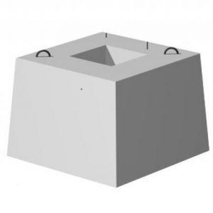 Фундамент стаканного типа для телескопических молниеприемных мачт 2400х2400х1010 мм
