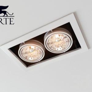 Встраиваемый светильник Arte Lamp Technika A5930PL-2SI