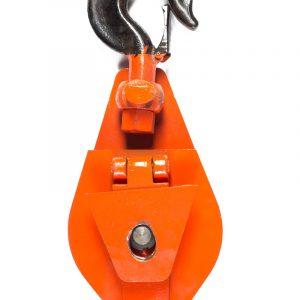 Блок монтажный HQG (L) с откидной щеткой 20т / 3 ролика