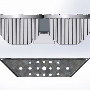 Промышленный прожектор FHB на кронштейнах FHB 14-600-50, 600Вт