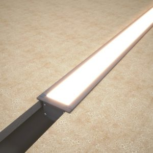 Светильник профильный встраиваемый линейный Linea inner 50