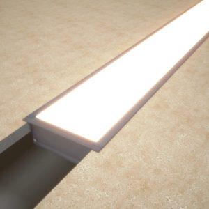 Светильник профильный встраиваемый линейный Linea inner 88
