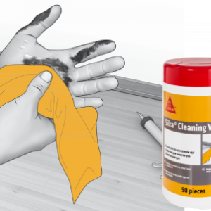 Sika Cleaning Wipes-100