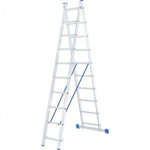 Лестница - стремянка 2х10 (2 х 2700х2520х4440) 9,2кг