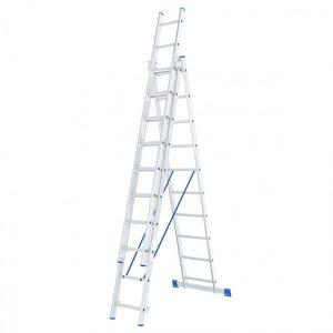 Лестница - стремянка 3х10 (3х2700х4300х6490) 14,7кг