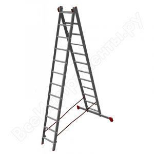 Лестница - стремянка 2х12 (2х3300х3170х5980) 13,3кг