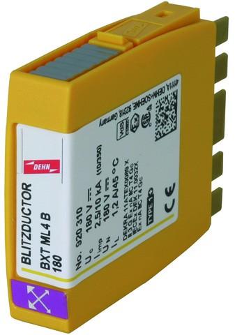 BLITZDUCTOR XT Разрядник тока молнии для 1-й пары 180 В