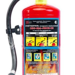 Огнетушитель воздушно-эмульсионный Заряд ПНТ-01 от 0°C до +50°C за 1 кг