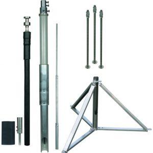 DEHNcon-H HVI light III проводник D=20 мм, L1=500 мм, L=6000 мм, H=2705 мм (комплект)