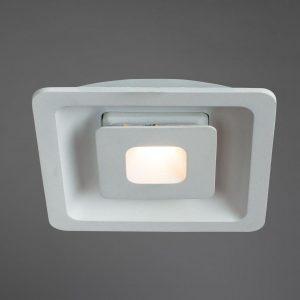 Встраиваемый светодиодный светильник Arte Lamp Canopo A7247PL-2WH