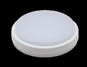 Светильник светодиодный герм СПП-Д 2303 12Вт 230В 4000К 960Лм 158мм с датчиком движения КРУГ IP65