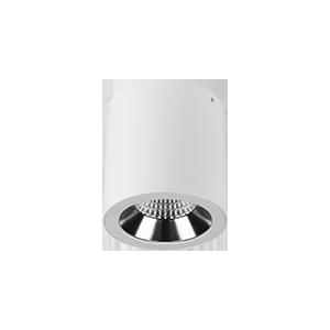 Светодиодный светильник «ВАРТОН» Downlight круглый накладной потолочный DL-02, 32 Вт, DALI