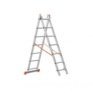 Лестница -стремянка 2х7 (2 х1900х1775х2880) 6,8кг