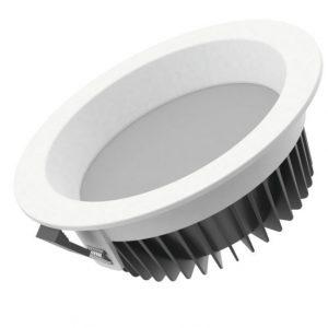Cветильник светодиодный «ВАРТОН» Downlight круглый встроенный 190*65 16W 3000K