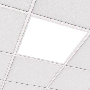 Светодиодный светильник «ВАРТОН» медицинский встраиваемый 595*595*55мм (C070) с опаловым рассеивателем 27 Вт 4000К IP54