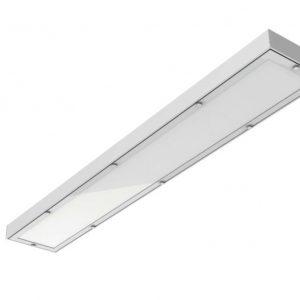 Светодиодный светильник «ВАРТОН» медицинский 1195*180*55мм с опаловым рассеивателем 36 ВТ 4000К IP54 диммер DALI
