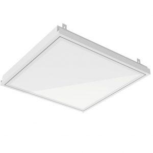 Аварийный светодиодный светильник «ВАРТОН» тип кромки Clip-In (GemaGrid) 600*600*62мм 36 ВТ 4000К IP54