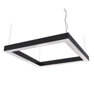 Дизайнерский подвесной светодиодный профильный светильник Cuadra 02 Profile