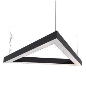 Дизайнерский подвесной светодиодный профильный светильник Trigon 02 Profile