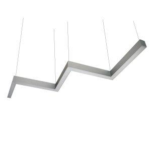 Дизайнерский подвесной светодиодный профильный светильник Snake 01 Profile