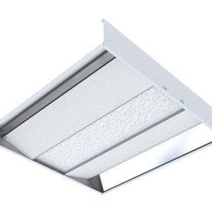 Светодиодный светильник 'ВАРТОН' офисный встраиваемый отраженного света колотый лед 595*595*100мм 36 ВТ