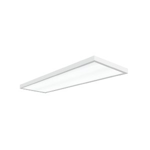 Светодиодный светильник 'ВАРТОН' Премиум встраиваемый/накладной 595*180*50мм 18 ВТ 3950К с функцией аварийного освещения