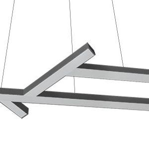 Светильник светодиодный подвесной legno 1439