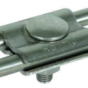 Параллельный соединитель для одинаковых проводников Rd=7-10мм NIRO ( V4A )