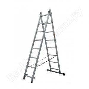 Лестница - стремянка 2х8 (2 х 2200х1995х3400) 7,5кг