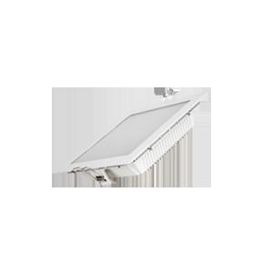 Светодиодный светильник «ВАРТОН» Downlight квадратный 170*170*48.5 мм 20W 3000K