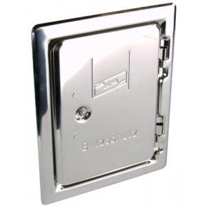 Инспекционная дверца для монтажа под штукатурку NIRO 205x145 мм