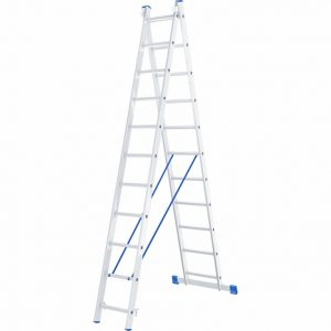 Лестница - стремянка 2х11 (2х3000х2810х5410) 11,5кг