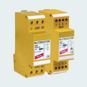 BLITZDUCTOR VT УЗИП для источников питания 24 В программируемых логических контроллеров