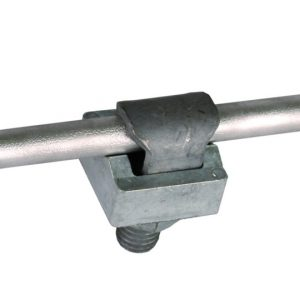 KS клемма одночастная M10 NIRO Rd=6-10мм