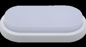 Светильник светодиодный герм СПП-Д 2403 12Вт 230В 4000К 960Лм 230х105мм с датчиком движения ОВАЛ IP65