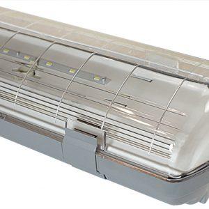 Светильник светодиодный Атлант Норми 55 Вт., IP65, 1280х135х100мм (аналог ЛСП 2х36)