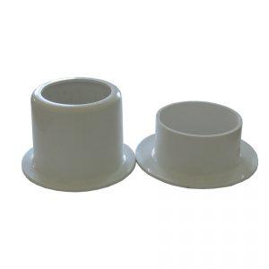 Устройство для углубленного монтажа спринклерных оросителей (L28 мм) цвет - белый, с металлическим держателем