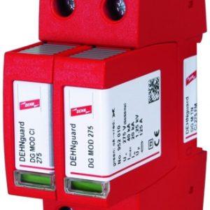 Штекерное УЗИП DG M TN CI 275 FM класс II со встроенным предохранителем с контактами дистанционной сигнализации