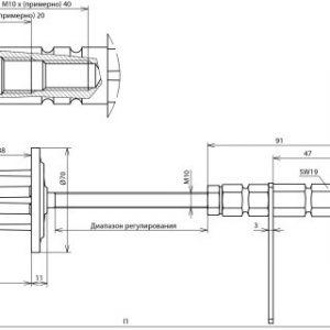 Водонепроницаемый стеновой проходной элемент NIRO для стен толщиной 400-500мм NIRO(V4A)