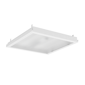 Светодиодный светильник «ВАРТОН» тип кромки Clip-In (GemaGrid) 600*600*58мм 36 ВТ 4000К IP40