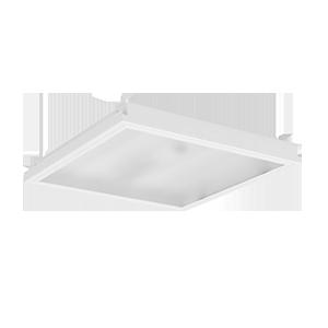 Светодиодный светильник «ВАРТОН» тип кромки Clip-In (GemaGrid) 600*600*62мм 36 ВТ 4000К IP54 с опаловым рассеивателем