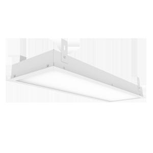 Светодиодный светильник «ВАРТОН» грильято подвесной 588*180*50мм 18 ВТ 4000К с планками для подвеса С РАМКОЙ
