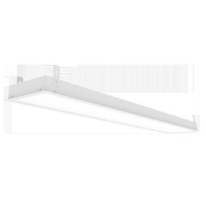 Светодиодный светильник «ВАРТОН» грильято подвесной 1188*180*50мм 54 ВТ 6500К с планками для подвеса С РАМКОЙ