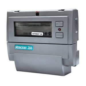 Счётчик многотарифный 1-4 1*230 5(60)А класс точности 1 CAN ЖКИ на DIN-рейку Меркурий 200.02