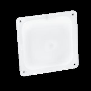 Светодиодный светильник «ВАРТОН» ЖКХ серия IP65 220*90*50 мм антивандальный 8 ВТ (led 0,5в) 4500К с микроволновым датчиком