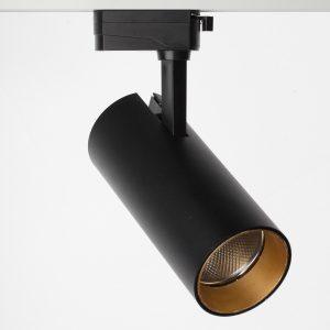 Трековый светодиодный светильник Focus 10W, 1000Lm, 36 гр, 2TRA, Черный