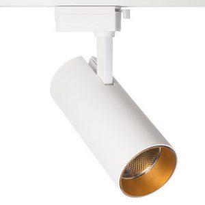 Трековый светодиодный светильник Focus 30W, 2TRA, Белый