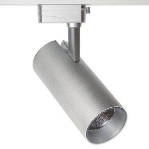 Трековый светодиодный светильник Focus 30W, 2800lm, 36 гр, 2TRA, Серый