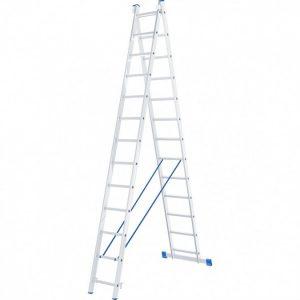 Лестница - стремянка 2х13 (2х3500х3250х6550) 12,7кг